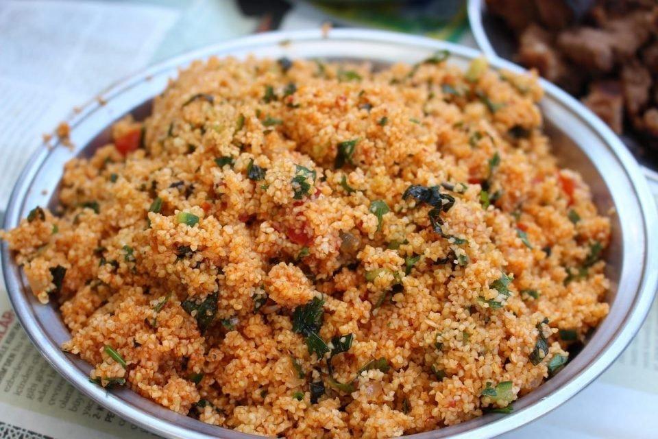 bulgur turco ensalada receta
